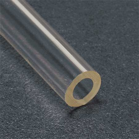 TYGON ACF00016 Tubing, Clear, 1/4 In. Inside Dia, 50 ft.