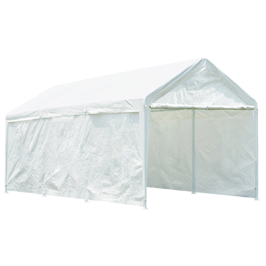 Quictent 20u0027 x 10u0027 Heavy Duty Carport Gazebo Canopy Party Tent Garage Car Shelter White - Walmart.com  sc 1 st  Walmart & Quictent 20u0027 x 10u0027 Heavy Duty Carport Gazebo Canopy Party Tent ...