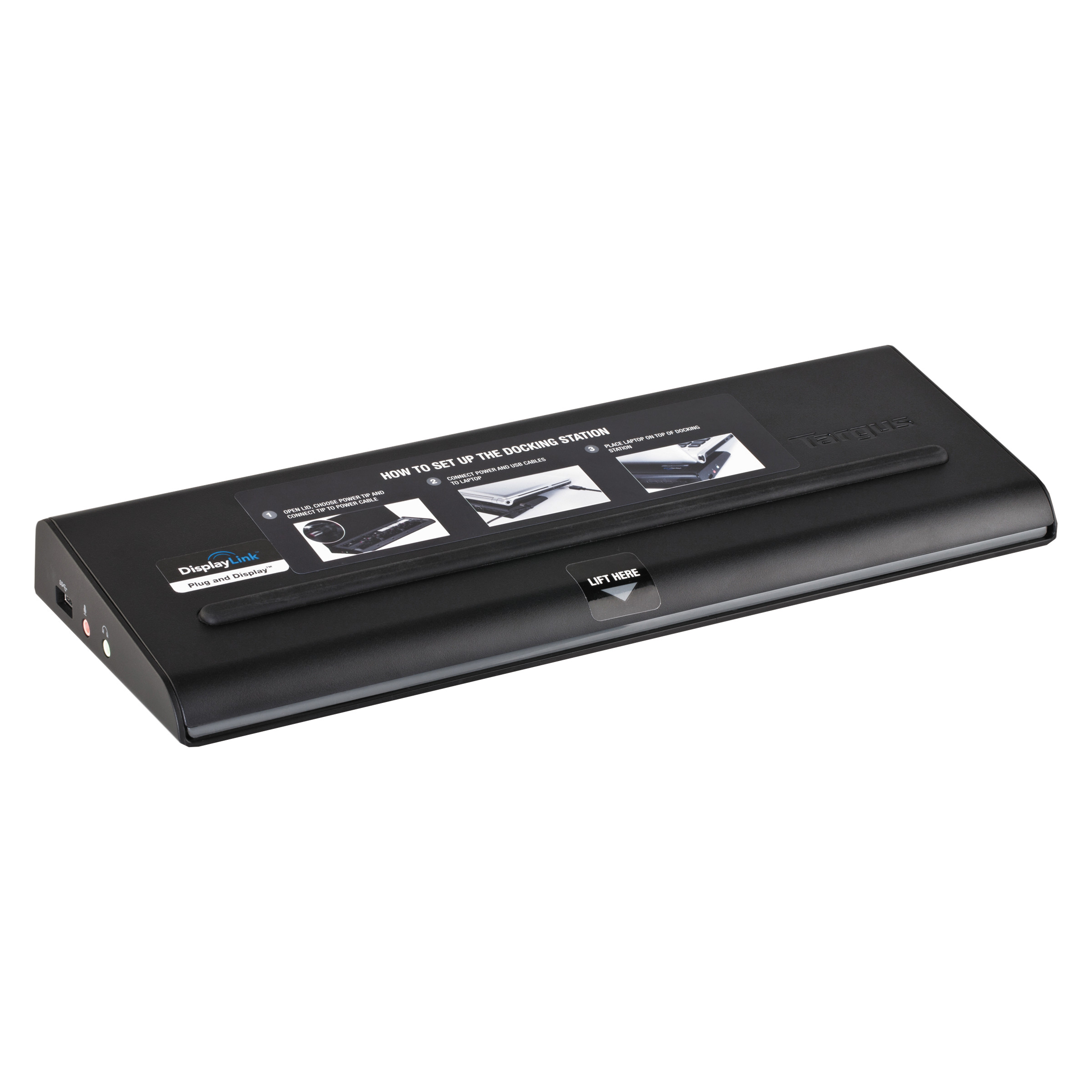 Targus Universal USB 3.0 DV2K Docking Station with Power by Targus