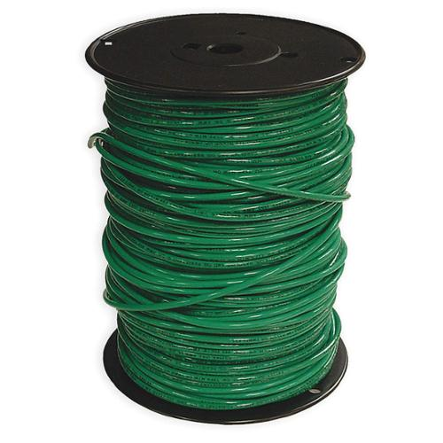 SOUTHWIRE COMPANY Stranded THHN Building Wire,  Green,  500 ft. 10 AWG 22977301