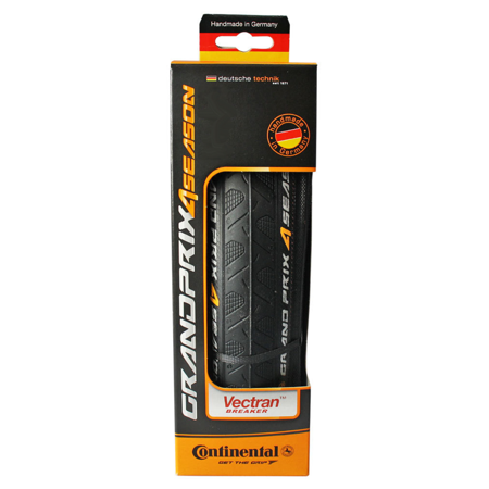 Continental Grand Prix 4 Season Folding Tire 700x25c Black Road Race Tour