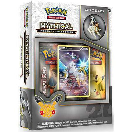 Pokemon Arceus Mythical Collection Box