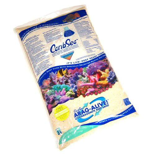 CaribSea Arag-Alive Live Aragonite Reef Sand -  Fiji Pink 20 lbs