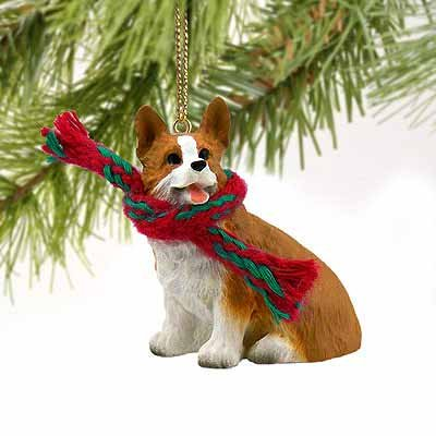 Welsh Corgi Pembroke Miniature Dog Ornament Pembroke Welsh Corgi Ornament