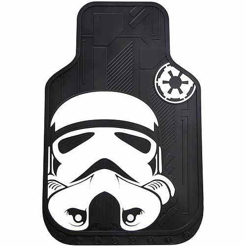 Plasticolor 006219R01 Star Wars White Stormtrooper CD Visor Organizer