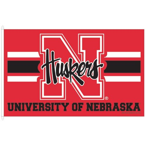Wincraft, Inc. Collegiate 5' Flag - University of Nebraska