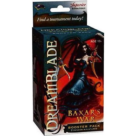 Boosters D&d Miniatures (Dreamblade Miniature Game Baxar's War Booster Pack )