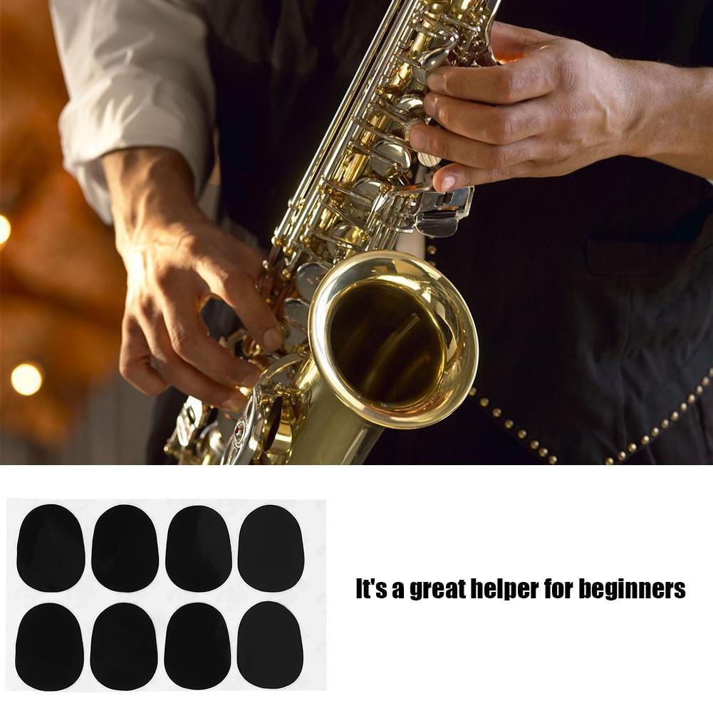 nuosen 24 Piece Mouthpiece Patches Alto Tenor Saxophone Sax Clarinet Patches