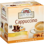 Grove Square Caramel Cappuccino 18 Single Serve Cups