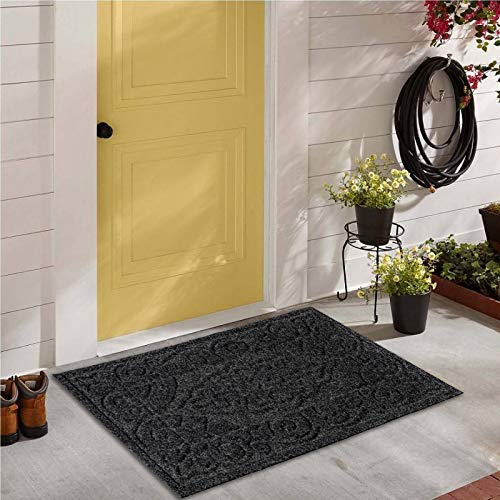 Bath Mat-Extra-Soft Plush Bath Shower Bathroom Rug 15 X 23 White