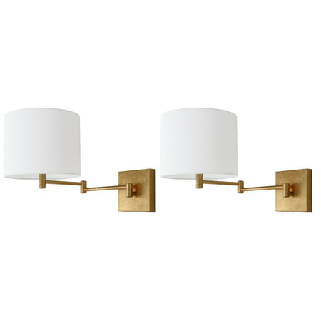 Safavieh Lillian 12 in. High Wall Sconce, Set of 2 ()