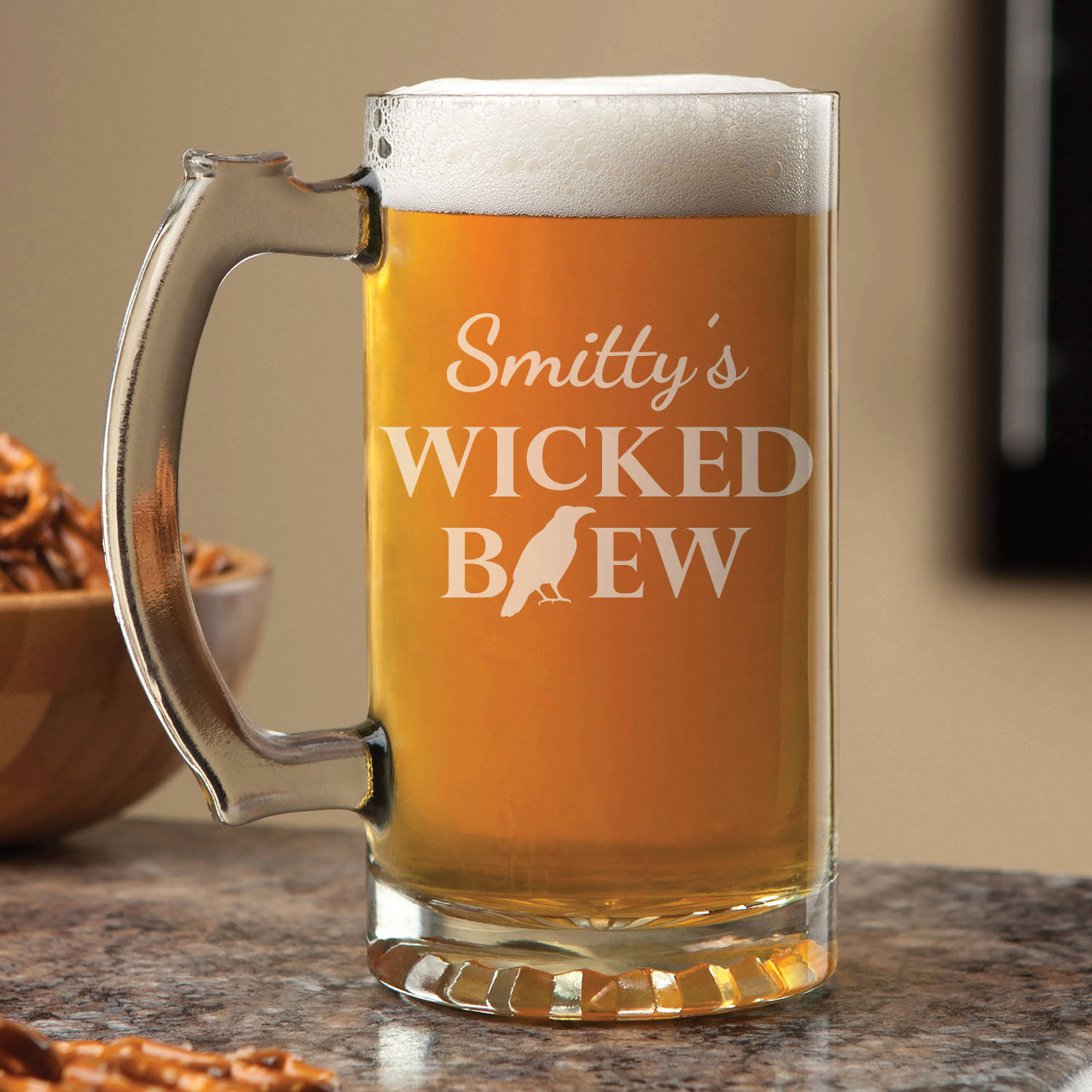 Personalized Wicked Brew Beer Mug