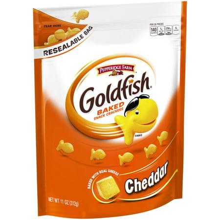 Pepperidge Farm Goldfish? Cheddar Baked Snack Crackers 11