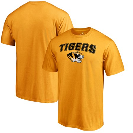 Missouri Tigers Proud Mascot T-Shirt - Gold - - Missouri Tigers Fan Gear