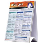 BarCharts 9781423223054 Office 2013 Quickstudy Easel