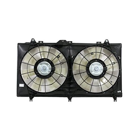 Dual Radiator and Condenser Fan Assembly - Cooling Direct For/Fit GM3115245 12-15 Chevrolet Camaro Convertible 6.2L