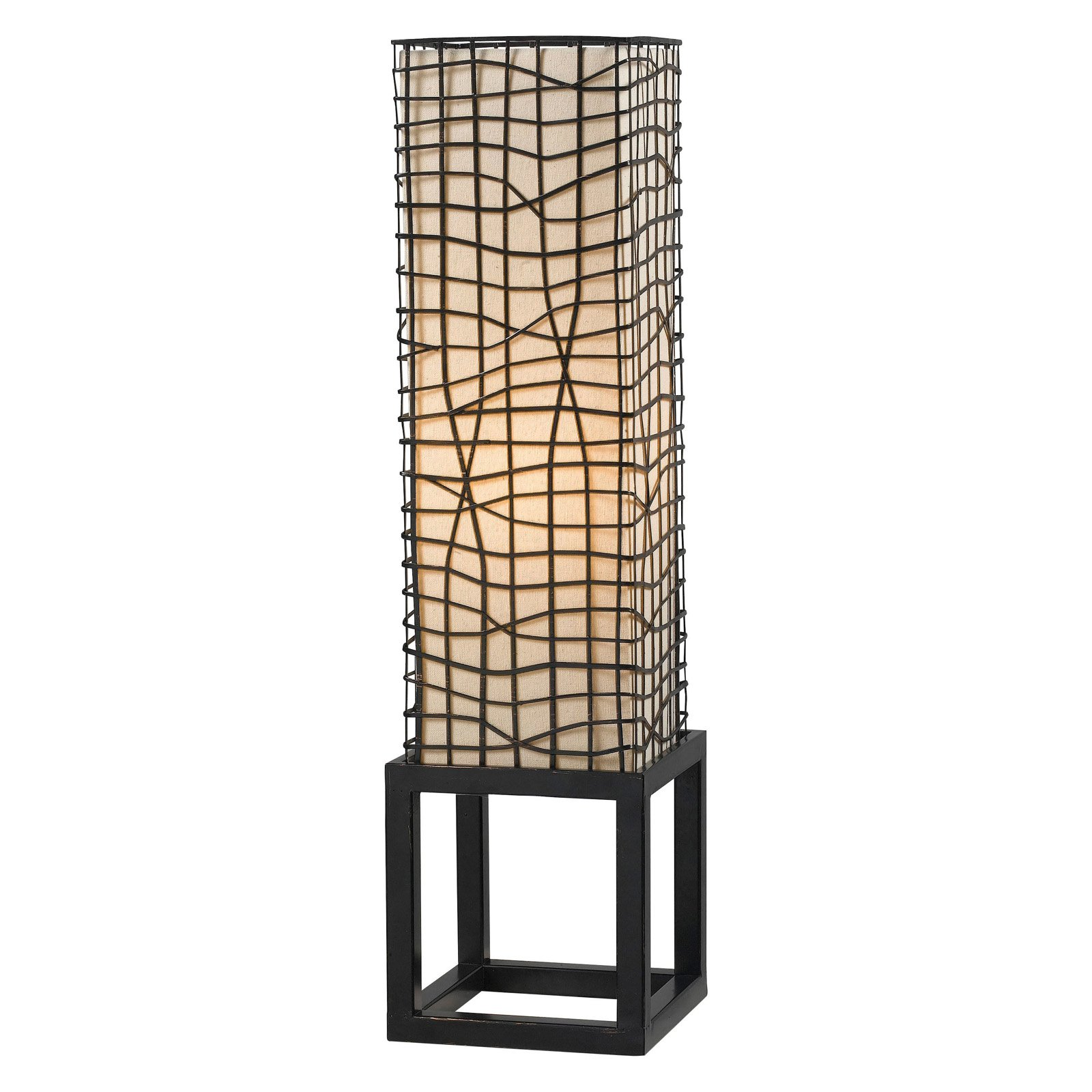 Kenroy Home Fortress Table Lamp, Bronze