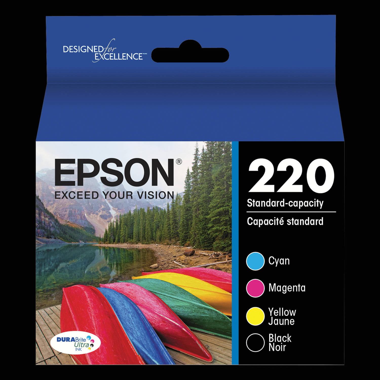 Epson T220120BCS (220) DURABrite Ultra Combo Ink Cartridge