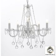 Authentic All Crystal Chandelier With 40mm Crystal Balls