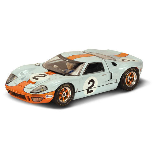Scalextric Ford GT40 P1075 ''Gulf Oil'' Racing