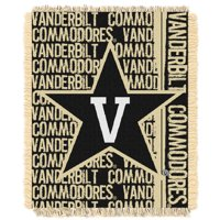"Vanderbilt Commodores The Northwest Company College Double Play 46"" x 60"" Woven Blanket"