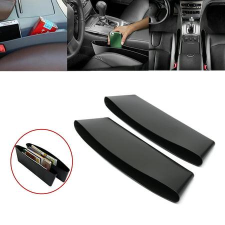 2 Pc Car Interior Catch Hot Products Automotive Car Trash Garbage Bag Seat Slit Pocket Car Storage Box Car portable Organizer (Interior Flat Pocket)
