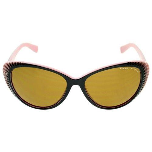 1c12fb1f49 Armani Exchange - Armani Exchange Women AX4013 8055/73 Black &  Pink/Brown Lens Cateyes Sunglasses - Walmart.com