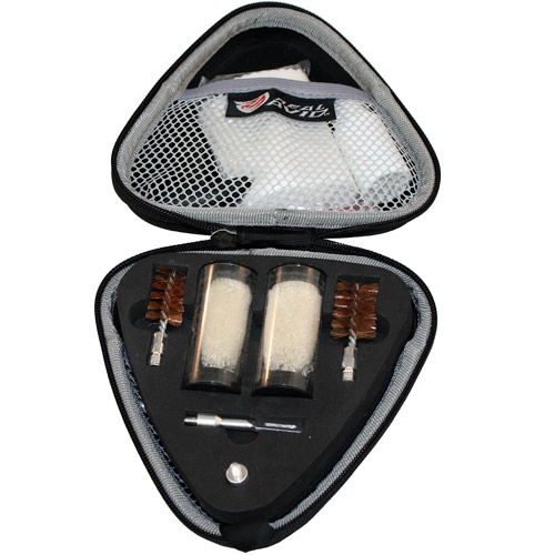Real Avid Gun Boss Shotgun Cleaning Kit W/ Case, Flex Brush
