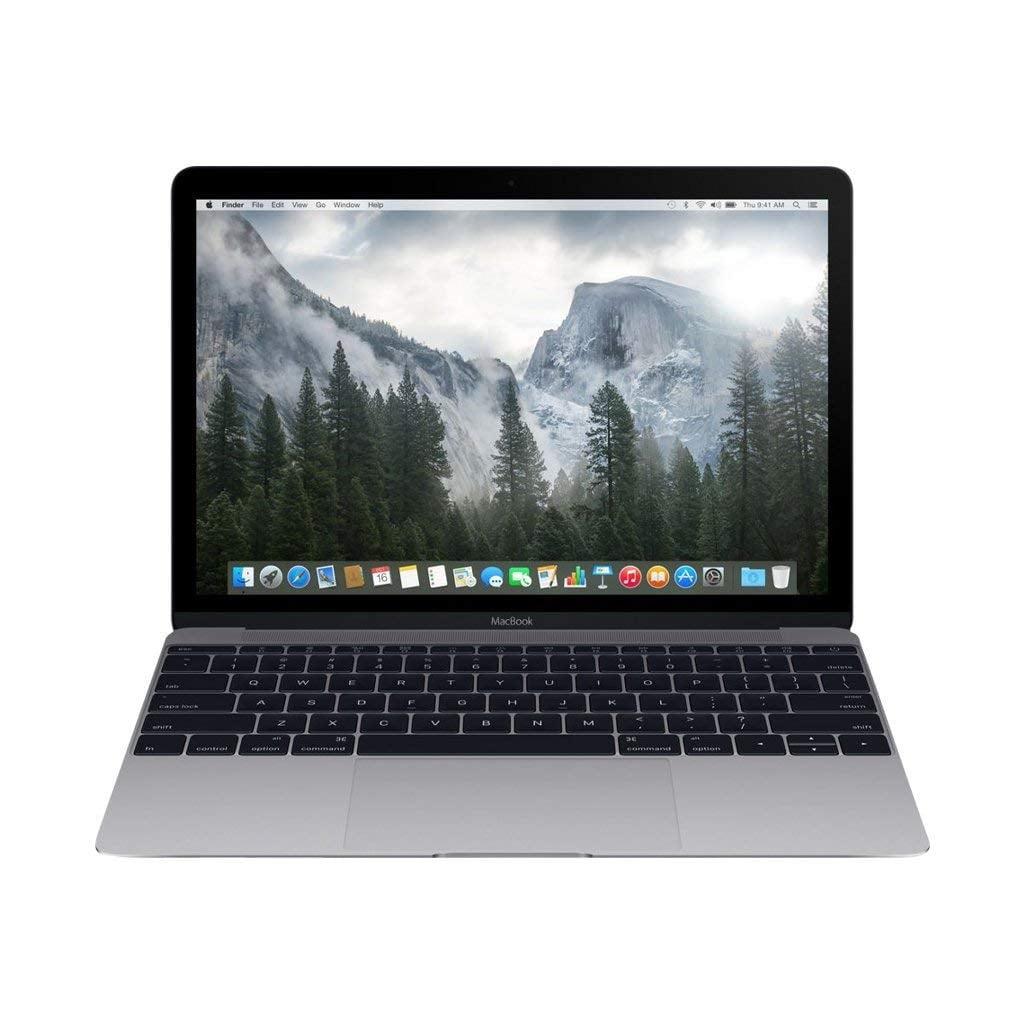 MacBook A1534 Intel Core M-5Y31 X2 1.1GHz 8GB 256GB SSD, Space Gray (Refurbished)
