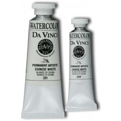 Da Vinci DAV231F 15ml Watercolor Paint - Chinese White