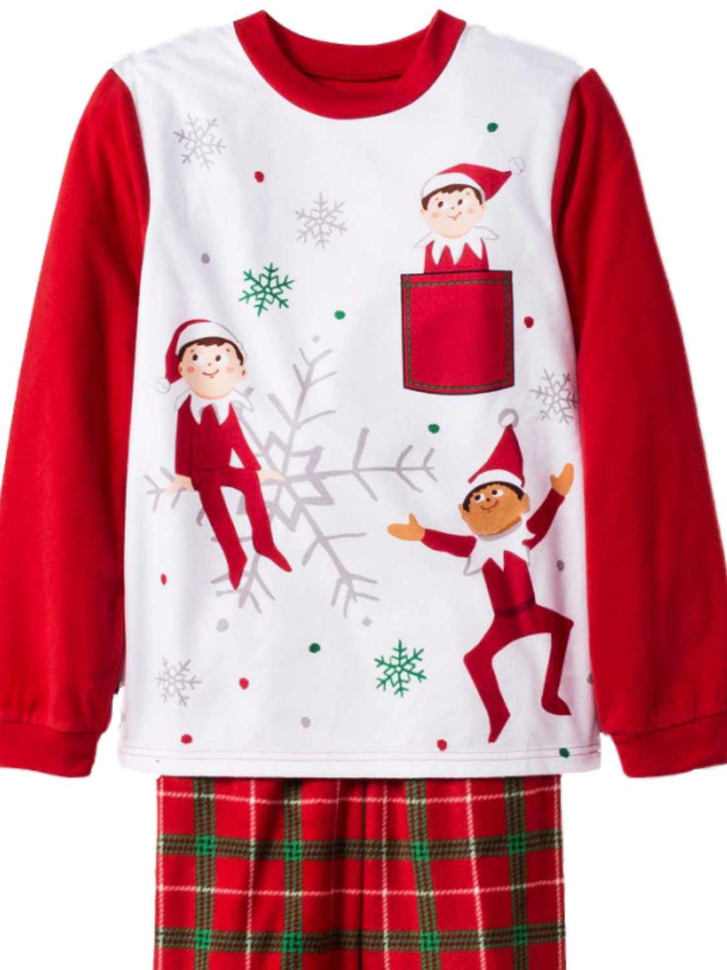 Elf on the Shelf Boys 2-Piece Fleece Pajama Set