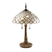Dale Tiffany Seashell Table Lamp