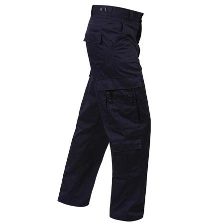Navy Blue EMT or EMS Pants with Nine Pockets Glove Pocket Ems Pants