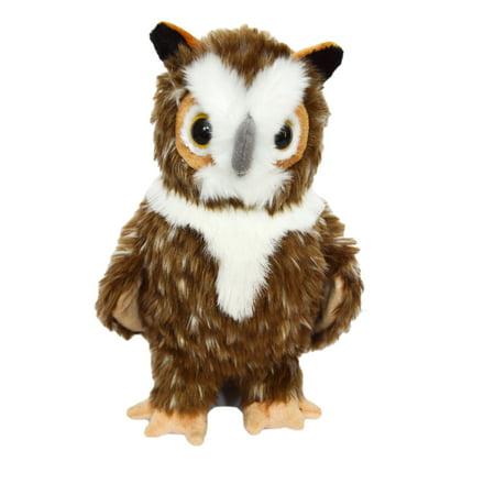 Great Horned Owl Animals - Kingdom Kuddles Elegant Great Horned Owl Barnstable- Plush Owl- Stuffed Animal- Toy