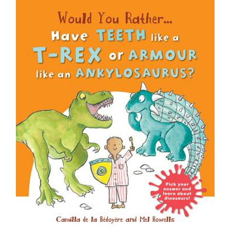 Would You Rather Have the Teeth of A T-Rex or the Armor of an Ankylosaurus? : Hilarious Scenes Bring Dinosaur Facts to - Would You Rather Halloween
