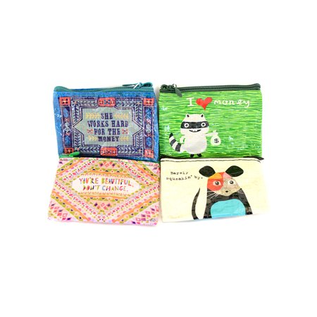 Coin Purses 401K  3 In  X 4 In   Pack Of 4