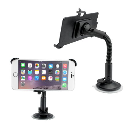 Car Vehicle Windshield Adjustable Dashboard Mount Rotating Stand Holder with Suction Cup for Apple iPhone 6  Plus (Adjustable Suction Cup)