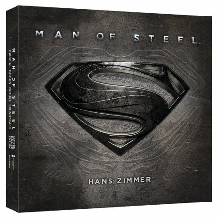 Various Artists   Man Of Steel  Original Score   Limited Deluxe Edition   Cd