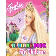 Barbie Coloring Book for Children : Barbie Princes Coloring Book With Perfect Images For All Ages (Exclusive Coloring Pages For Girls)