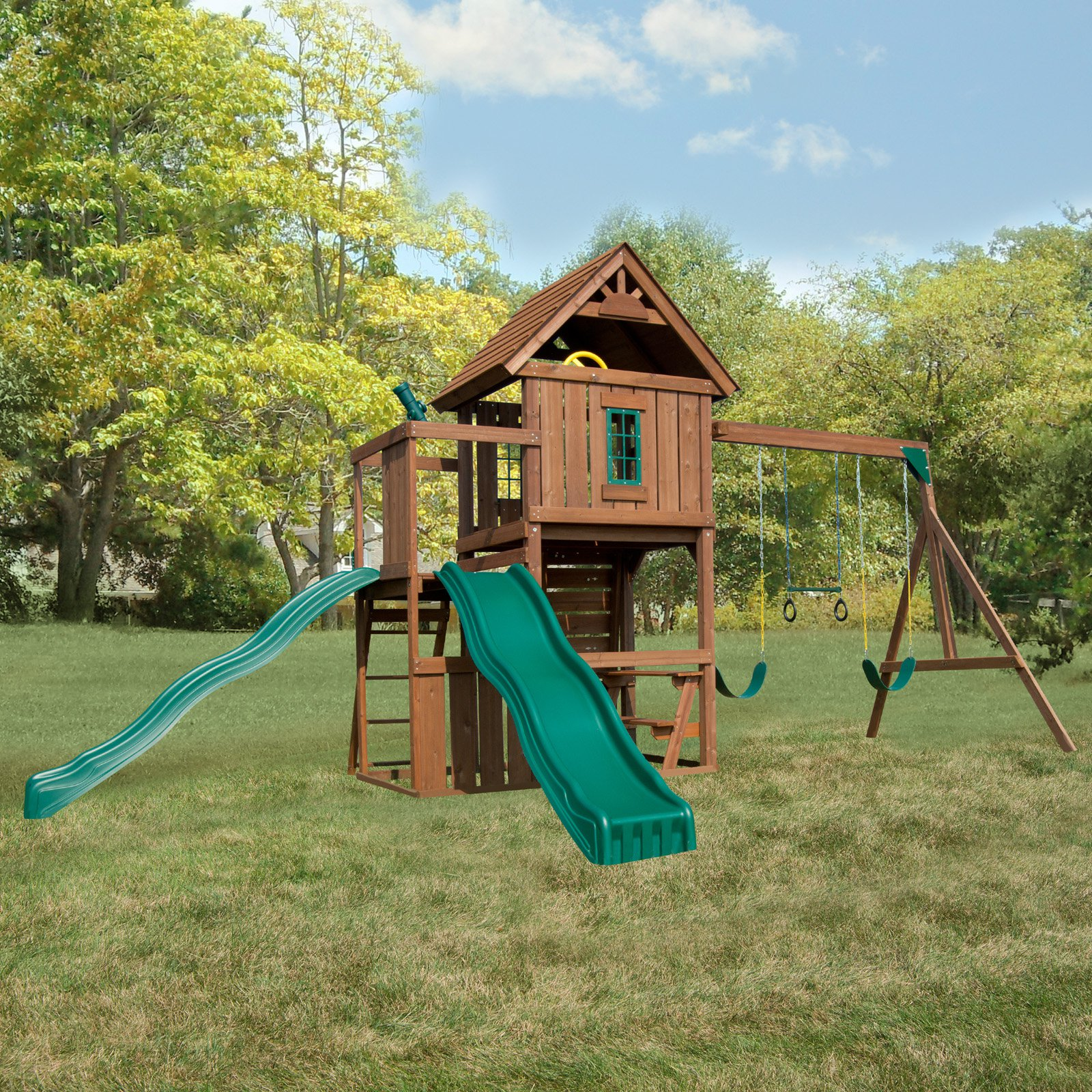 Swing-N-Slide Monteagle Wooden Swing Set