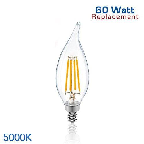 Lumens 60 Watt Incandescent Candelabra Bulb