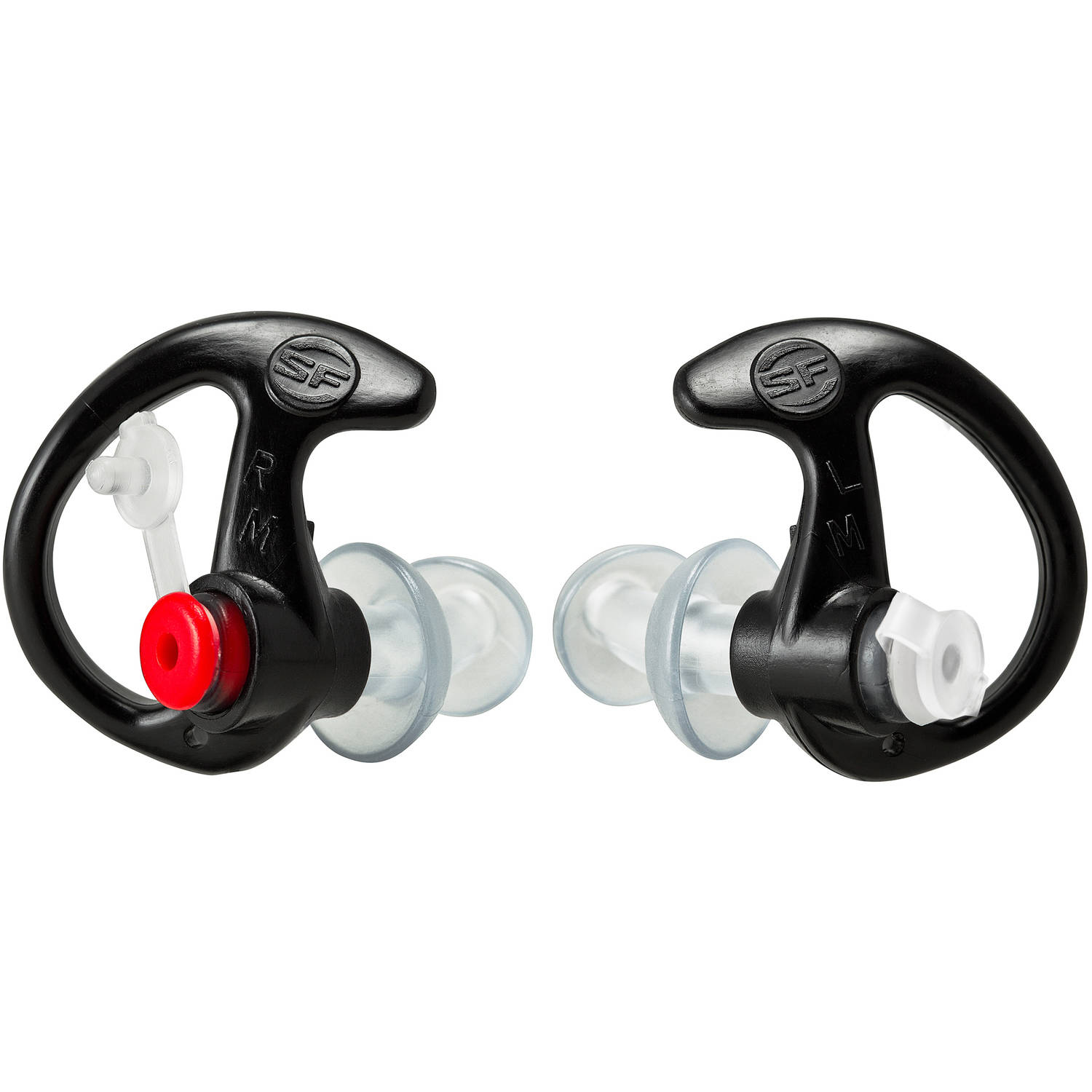 Surefire EarPro Sonic Defender Ear Plug, Large, Black