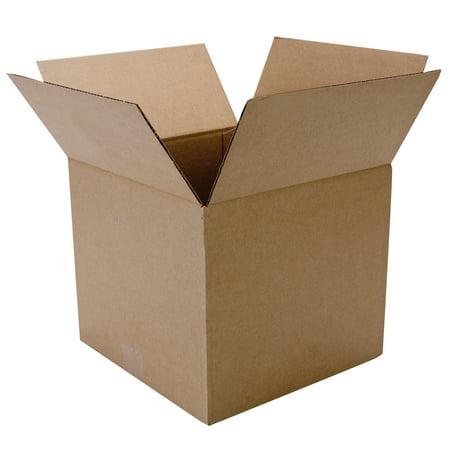Duck Brand Kraft Box, 12 in. x 12 in. x 10.5 in., Brown,