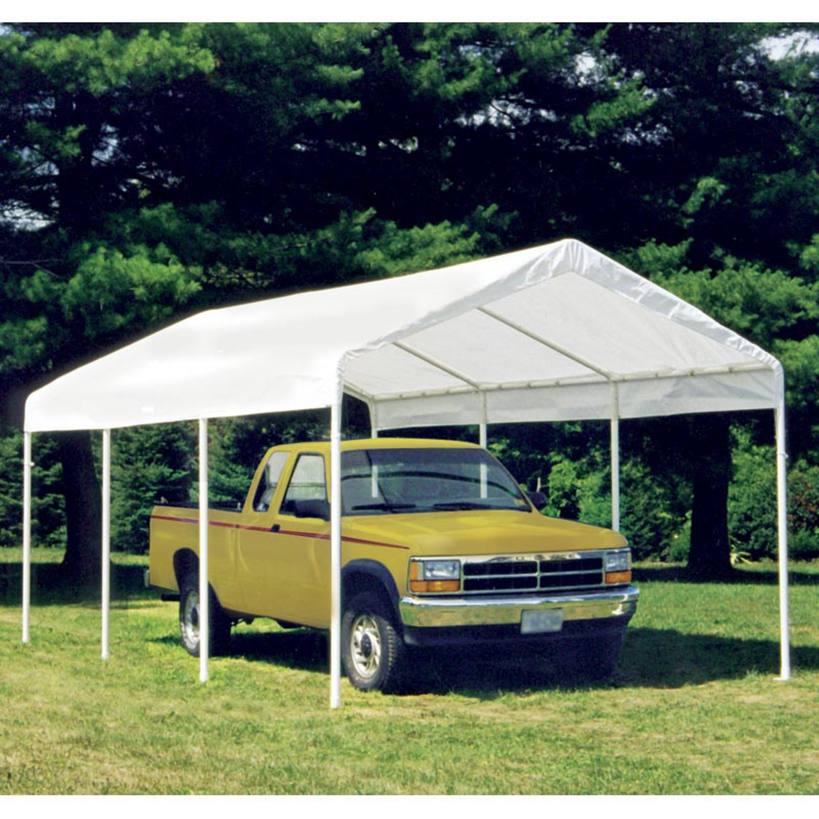 Shelterlogic Max AP 10' x 20' 2-in-1 Canopy with White Cover Enclosure Kit