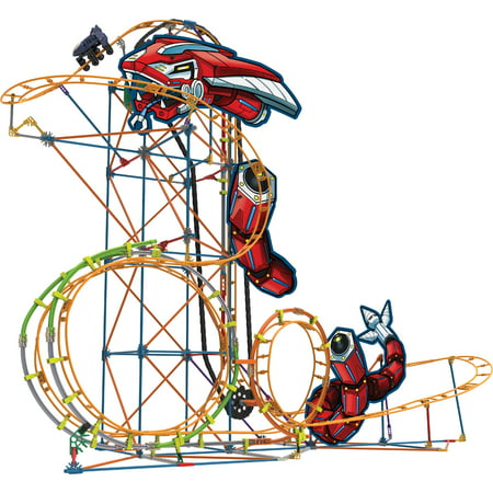 K'NEX Thrill Rides Mecha Strike Roller Coaster Building Set](Knex Rollercoaster)