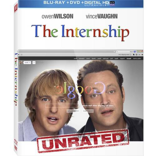 The Internship (Rated/Unrated) (Blu-ray + DVD + Digital Copy) (With INSTAWATCH) (Widescreen)