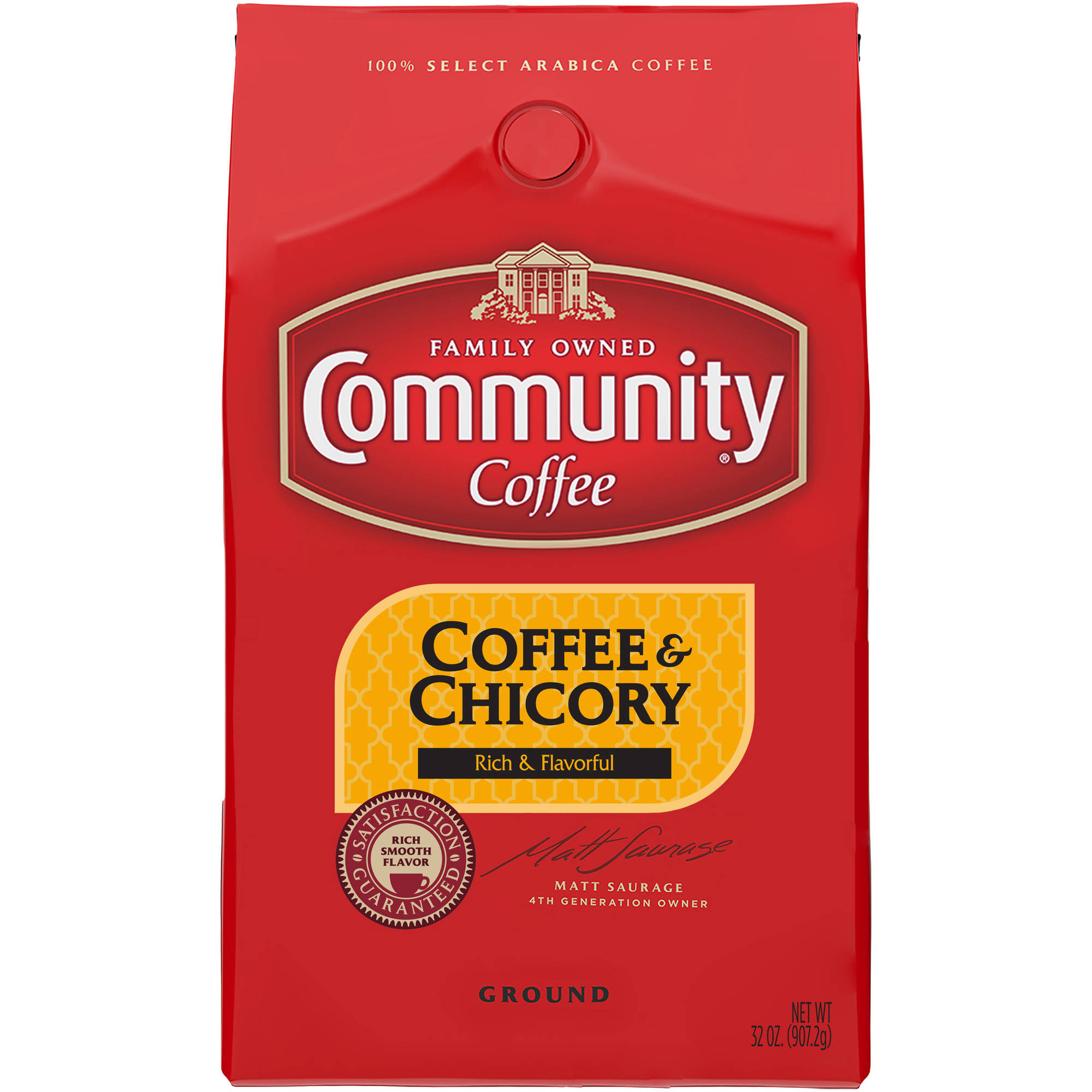 Community: Coffee & Chicory New Orleans Blend Ground, 32 Oz