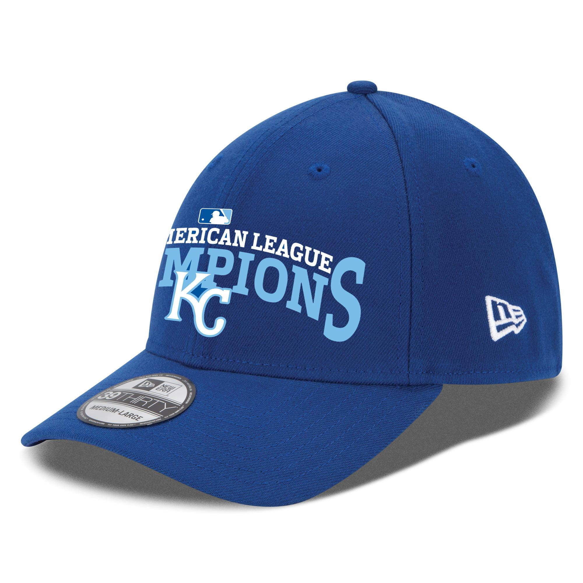 Kansas City Royals New Era 2015 American League Champions 39THIRTY Flex Hat - Royal