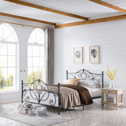 Charlton Home Rosendale Queen Panel Bed