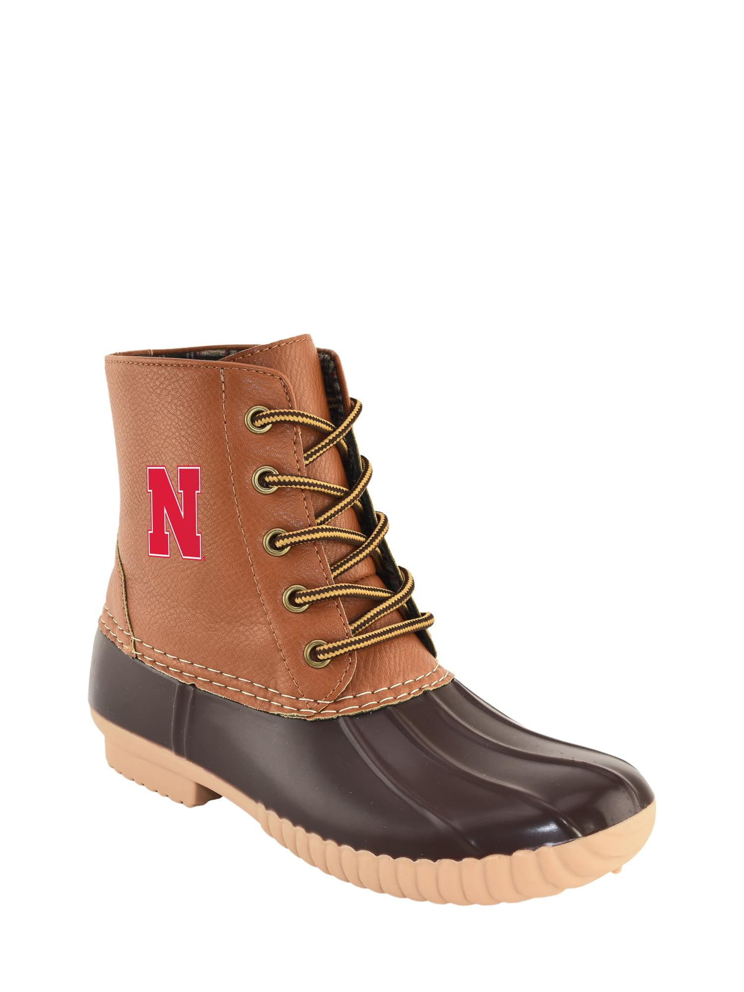 NCAA Women's Nebraska -High Duck Boot